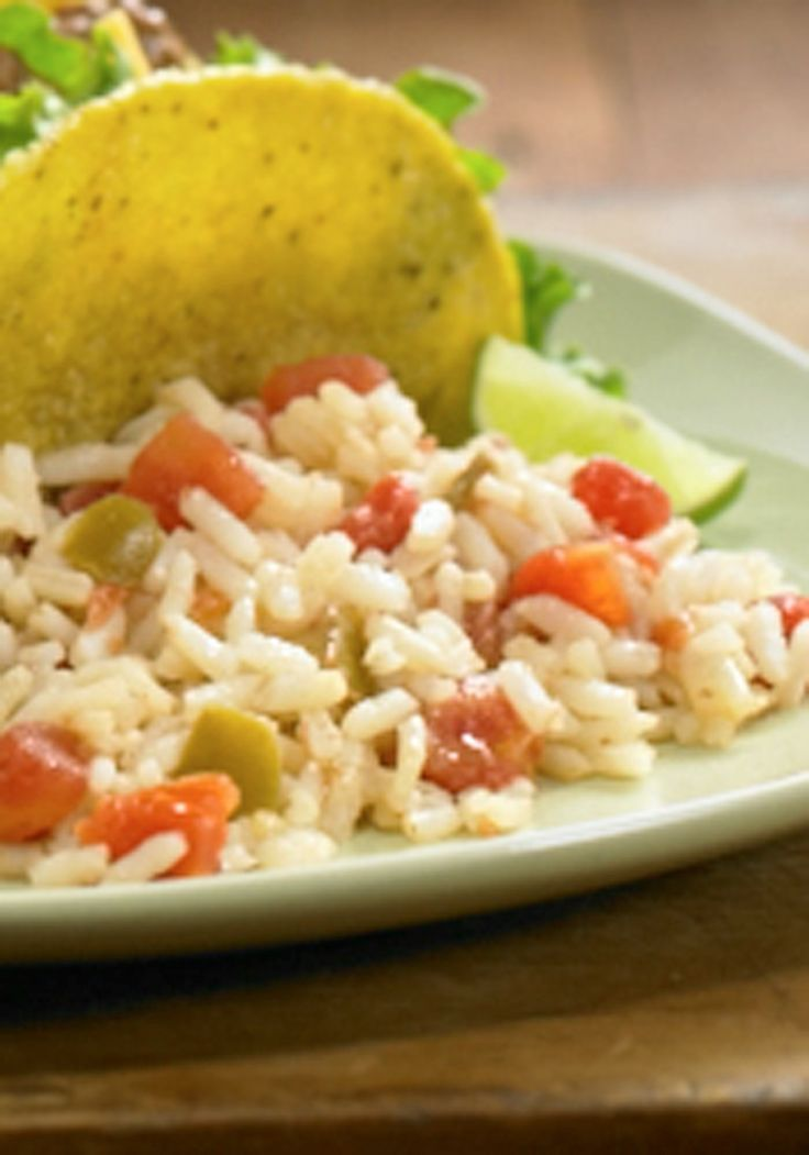 In 20 minutes, you can add a kick of flavor to any meal. Try this recipe for Spanish Rice!