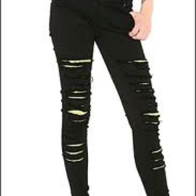 16 best Ripped skinny jeans images on Pinterest | Black skinnies ...