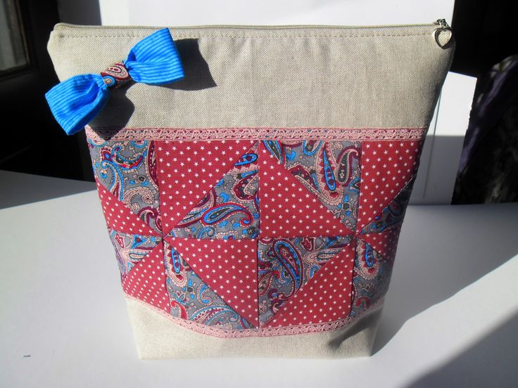 Christmas Gift for her, organizer bag by homeworkart on Etsy