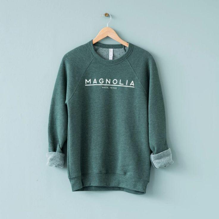 Magnolia Lined Crewneck Sweatshirt