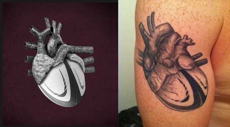a dedicated rugger whose tattoo was inspired by our heart of rugby tee rugby art in it 39 s finest. Black Bedroom Furniture Sets. Home Design Ideas