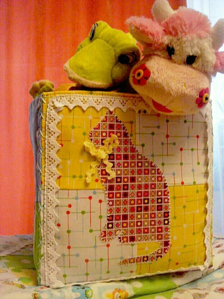 The box for toys Коробка для игрушек