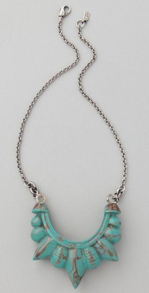 http://www.lyst.com/jewelry/pamela-love-turquoise-tribal-spike-necklace/