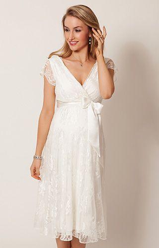 8374fc78eb3d0 Eden Maternity Wedding Dress Ivory Dream) by Tiffany Rose  #weddingdresses40yearoldbridesuk
