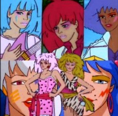 Jem and the Holograms. Truly Outrageous! 80s cartoons