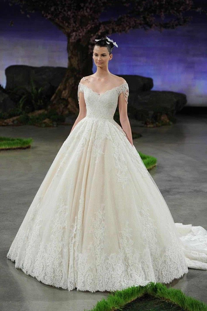 Ines Di Santo Wedding Dresses 2016 - MODwedding
