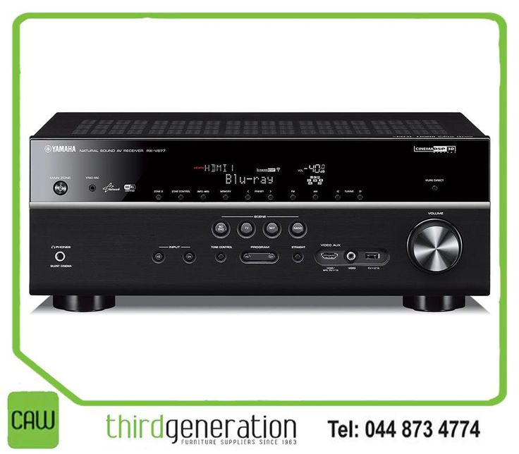 If weight, scale and pure blockbuster excitement are high on your list of receiver must-haves, the Yamaha RX-V677 is one to put on your shortlist. You cant miss these great deals at #CAW3G wasR11990 now R9490 awesome deal you wont be able to resist! #Yamaha
