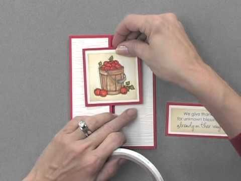 ▶ Gatefold Card with a Twist - YouTube