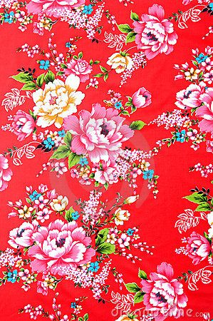 Chinese fabric - example of possible backdrop
