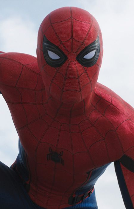 """Hey, everyone!"" Spider-Man Captain America Civil War"