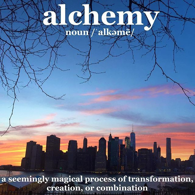 She watched as the sky turned brilliant colors through what seemed like alchemy. #sunset #brooklyn #enjoy #wordoftheday #dictionary