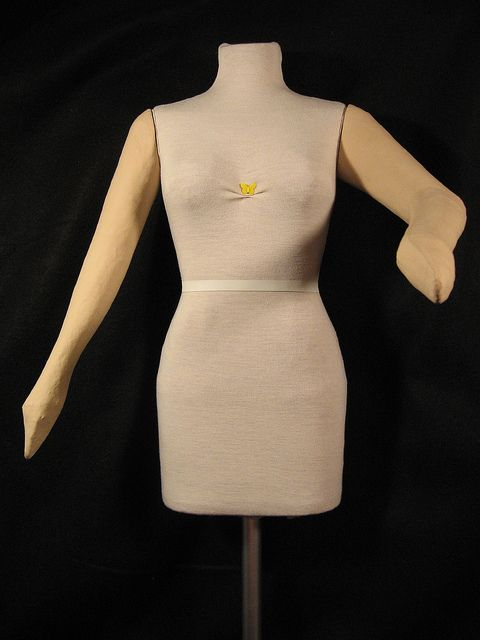duct tape dress form instructions