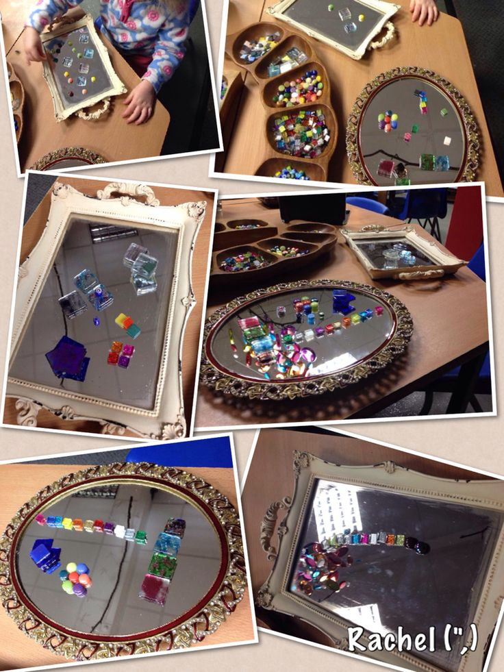 "Mosaic Tiles & Mirror Art... from Rachel ("",)"