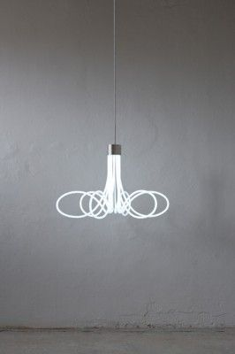 Neon Chandelier by Boa Design Studio