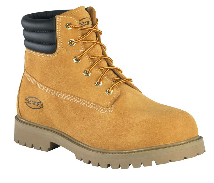 男性のための木材作業用ブーツ