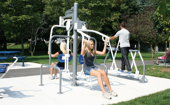 Outdoor workout gyms can be a great way to get a great ...