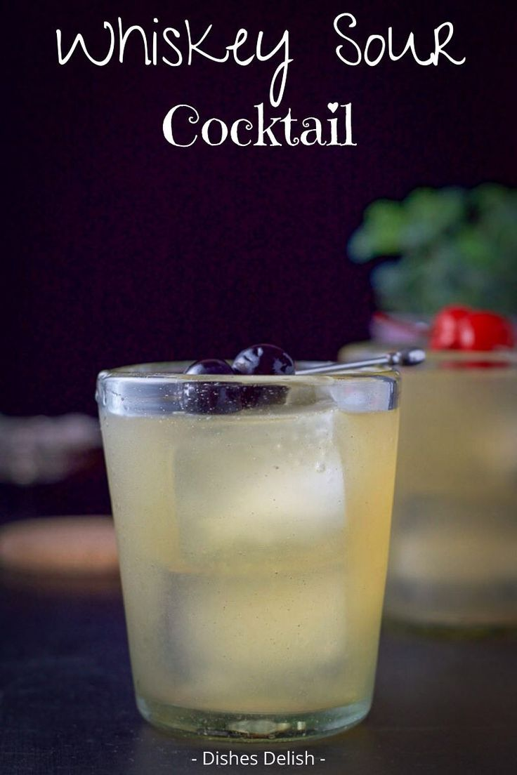 Jul 6, 2020 – This delicious whiskey sour is so easy to make and very satisfying! Enjoy it at your next party! #whiskeys…
