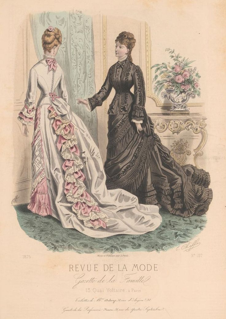 revue de la mode 1875 printies haberdashery coloured plates pinterest la mode. Black Bedroom Furniture Sets. Home Design Ideas