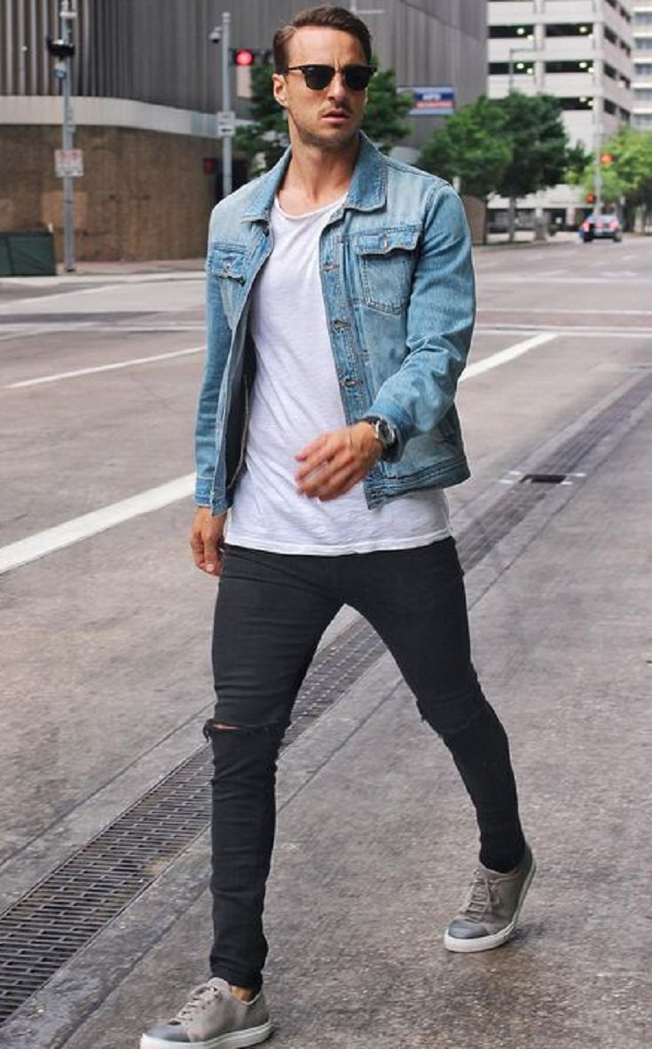 Best 25 Denim Jacket Men Ideas On Pinterest Men Denim