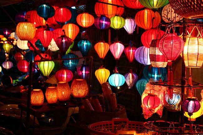 ベトナム・ホイアンのランタン祭り