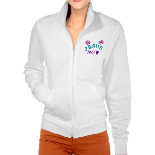 Christian Womens Sweatshirt Jacket No Hood.  http://www.zazzle.com/my/products/public/cg-196480069522476913/sr-250551723784833746?rf=238147997806552929  All of Little Linda Pinda Designs CLICK this LINK - http://www.Zazzle.com/LittleLindaPinda*  For Help or Design Changes Requests Call 239-949-9090