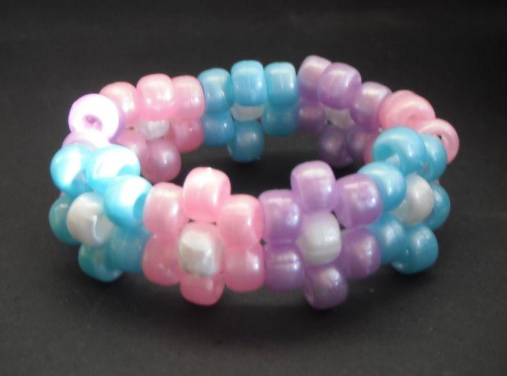 best 20 pony bead bracelets ideas on pinterest
