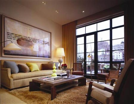How To Decorate A Large Wall In Living Room Home Design Ideas Decorating Ideas For Large Walls