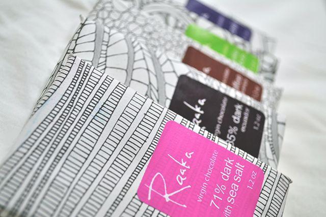 RaakaChocolate #packaging #design #brand