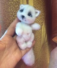 One of a kind handmade kitten, toy The nice cat . Author toy By Kaledina Natalia in Dolls & Bears, Bears, Artist, One of a Kind | eBay