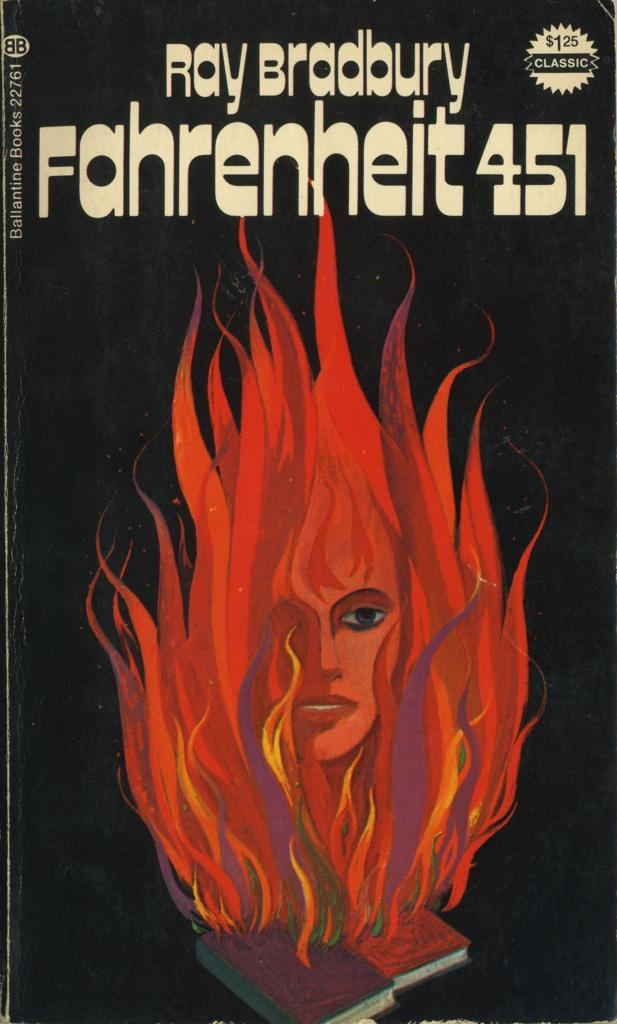 a book report of ray bradburys fahrenheit 451 Fahrenheit 451 ray bradbury's prediction of the future trevor young fahrenheit 451 is a dystopian novel written by ray bradbury that depicts a futuristic american society where books are banned and independent thought is persecuted bradbury uses his imagination to take a hard look at a world consumed by technology, and he presents .