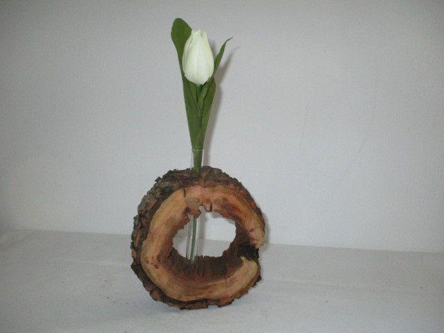 Vasen - Baumscheibe Vase - ein Designerstück von Dekolady bei DaWanda