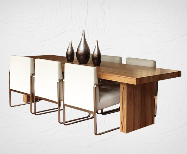 Timber & Steel Dining Suite