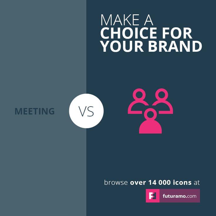 Make a choice for your brand.     Say it better with Futuramo Icons. https://futuramo.com/ #icons #futuramo #futuramoapp #design #brand #branding