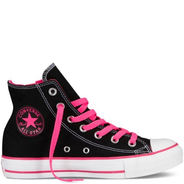 I have these and I don't really like pink but I love them #cheap #converse #Sneakers