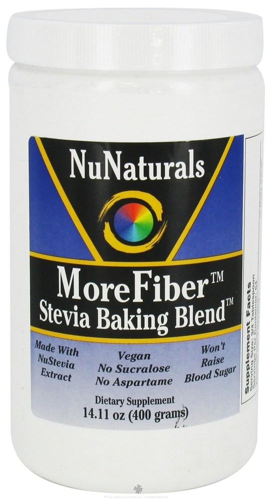 I want to try this, it's a stevia sweetened sugar substitute, that adds fiber as some of the bulk that would be missing with just stevia...Health Food, Stevia Baking, Healthy 2013, Buy Nunatur, Fiber Stevia, Healthy Food, Add Fiber, Baking Blends, Morefib Stevia