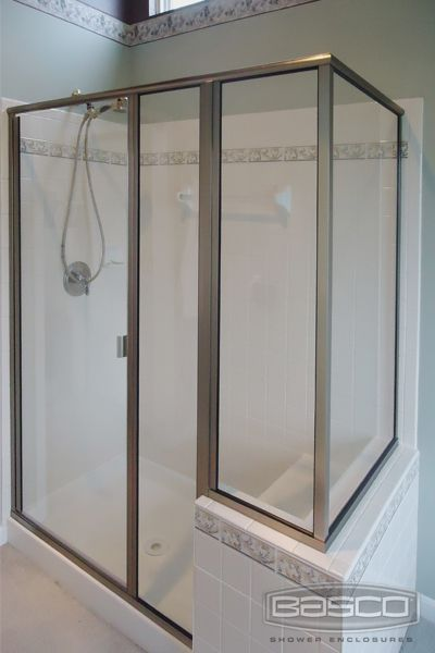 Bascou0027s Thinline door and panel configurations allow you to customize your shower enclosure to the shape & 18 best RODA by Basco images on Pinterest | Custom shower doors ... pezcame.com