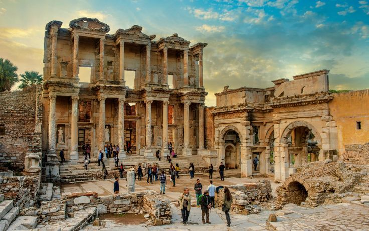 When the Greeks launched their thousand ships to recapture Helen of Troy, their destination was present-day Turkey.