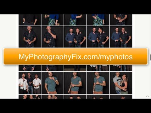 FREE Photography Tip #4 How to photograph 78 people at a party in 78 minutes