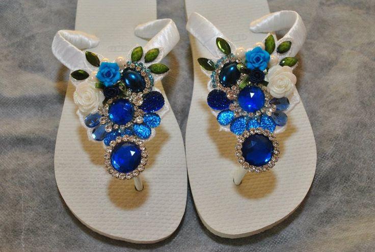 chinelos bordados Chinelo decorados - Blog Pitacos e Achados - Acesse…