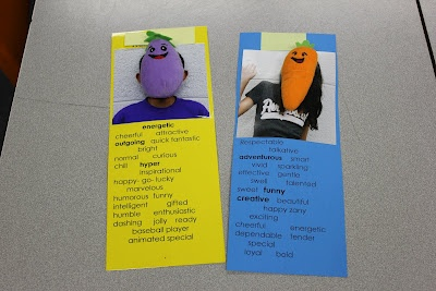 "Character education ""bookmarks"" for all grade levels....great lesson on adjectives, bullying, and positive characteristics."