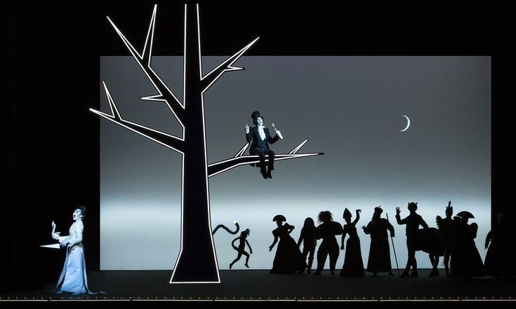 """Robert Wilson's """"Pushkin's Fairy Tales"""""""