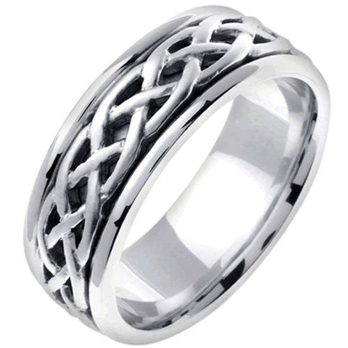 31 plain Iridium Wedding Ring – navokal.com