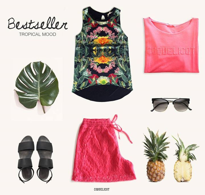 Bestseller | Tropical Mood https://www.facebook.com/coquelicot.fans