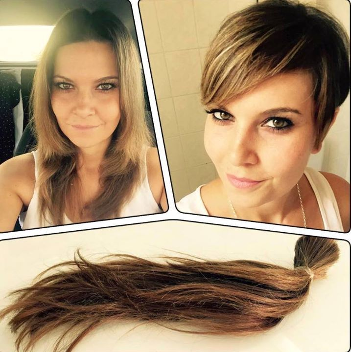 Going from long to short hair best short hair styles going from short to long hair best styles a before and after winobraniefo Choice Image