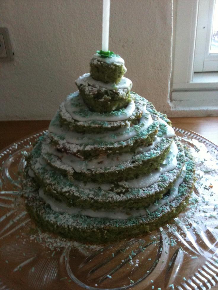 Juletræs-kage
