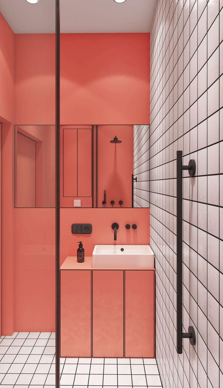 Badezimmer ideen rosa und grau  best badezimmer images on pinterest  half bathrooms bathroom