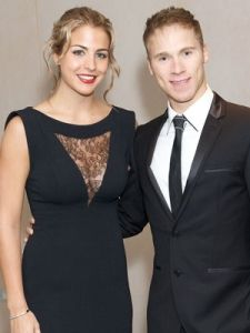 "Gemma Atkinson, Cristiano Ronaldo's ex-girlfriend, began dating Liam  Richards, who appeared on Britain's Got Talent in 2008 but only last weekend, she decided to make public via tweeter,  her engagement to her boyfriend.    Liam got down on one knee last summer, but actress Gemma, 28, didn't share her happy news.    She said: ""Ok, to those askin"