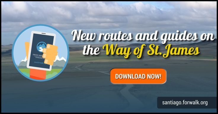 Camino de Santiago , hiking guides we selected for you, Route List: The French Way , Muxia and Finisterre Way , The Salvador Way , The Primitive Way . download maps, guidebooks and gps tracks