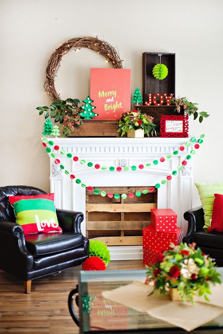 A Merry & Bright Holiday Prep Party {Red + Green}