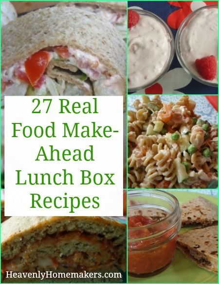 134 best lunch box real food style images on pinterest activity 27 real food make ahead lunch box recipes forumfinder Image collections